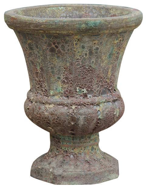 Urne Atle, Høyde 43 cm, Grønn