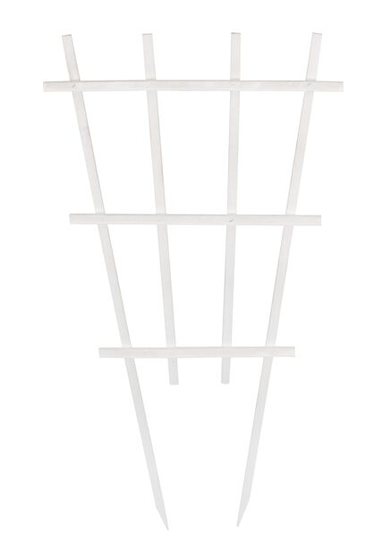 Espaljer for potte, Høyde 55 cm, Hvit