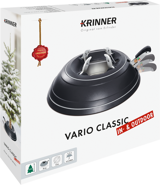 Juletrefot Krinner Vario Classic Indoor/Outdoor
