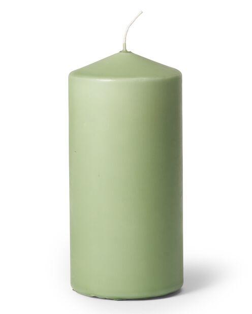 Blokklys, Høyde 14 cm, Grønn