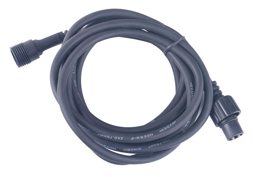Everest hagebelysning, kabel 2,5m, svart