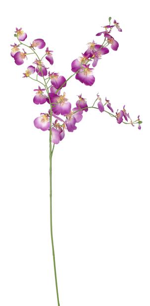 Orkidékvist Oncidium kunstig, Høyde 92 cm, Lilla