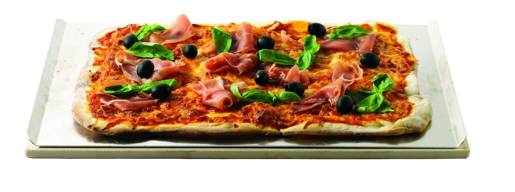 Pizzastein firkant