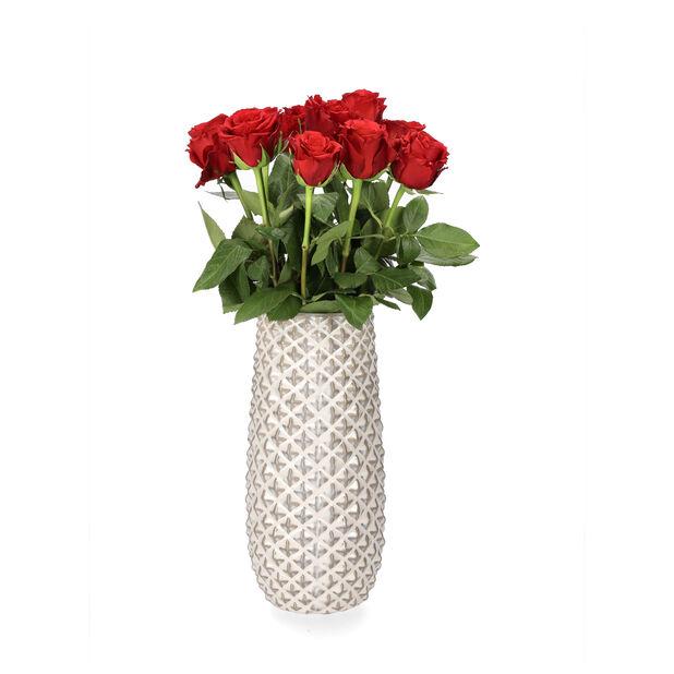 Roser Premium Fairtrade 10pk, Høyde 50 cm, Rød