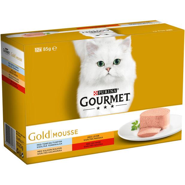 Gourmet Gold Mousse 12x85g, 85 g