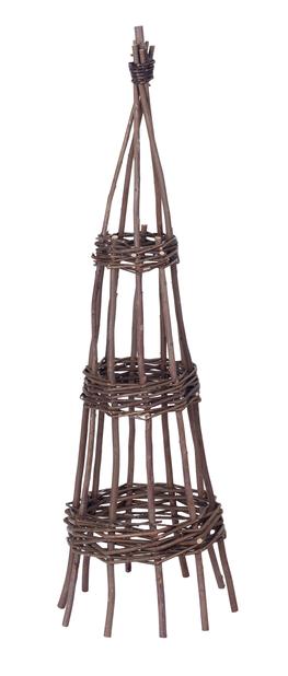 Plantestøtte pil, Høyde 90 cm, Brun