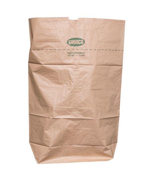 Papirsekk, 125 L