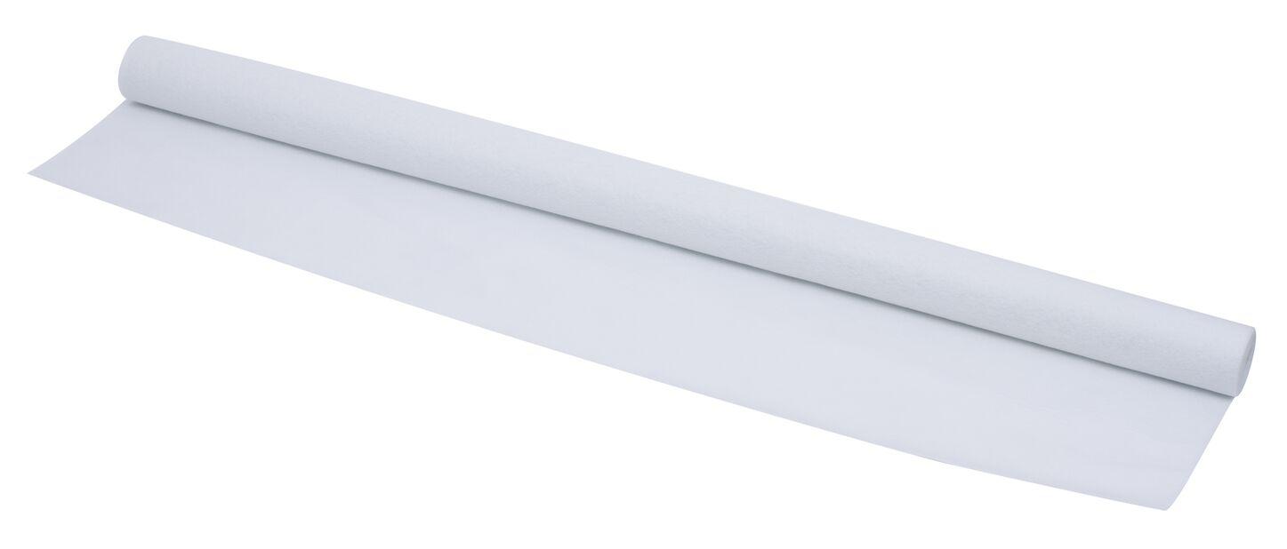 Fiberduk kraftig, 5 m2, Hvit