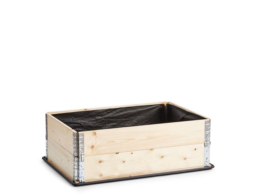 Duk for plantkasse, Lengde 80 cm, Svart