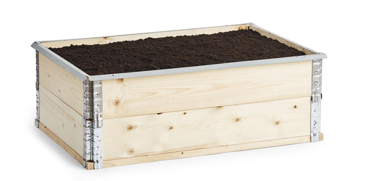 Sneglestopper til plantekasse 120x80 cm