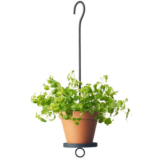 Oppheng for potte, Høyde 50 cm, Svart