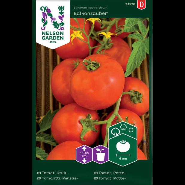 Vanlig tomat 'Balkonzauber', Flerfarget
