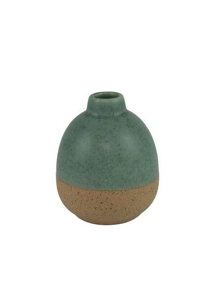Vase Selma, Høyde 10 cm, Grønn