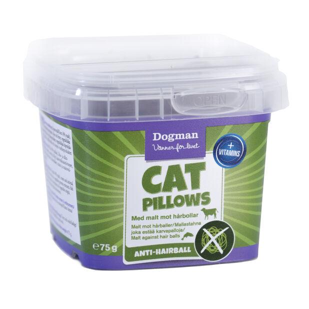 Dogman Cat pillows anti-hairball, Brun