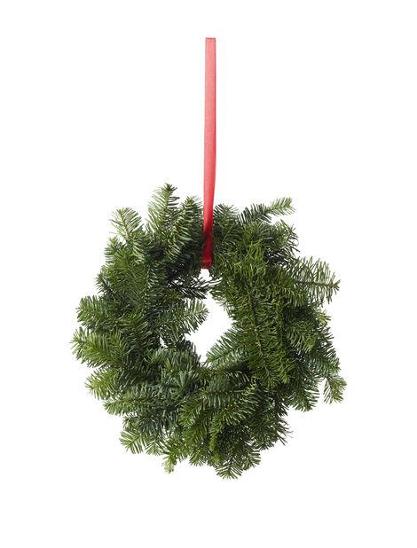Hengende grønn krans 30 cm