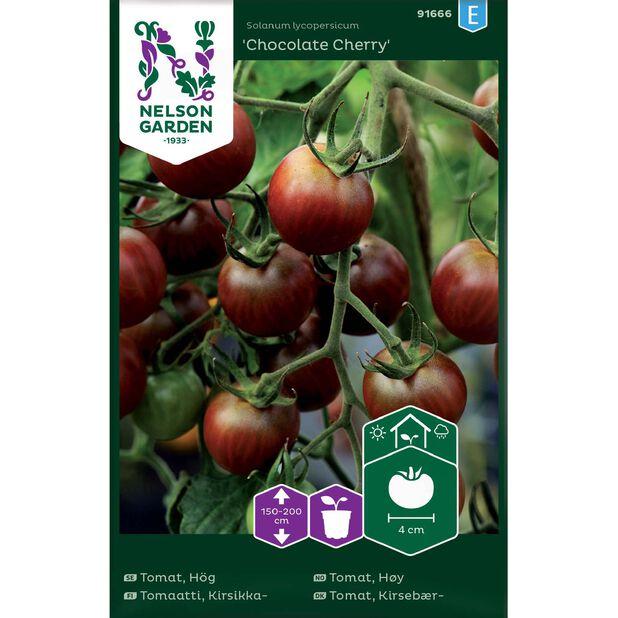 Cherrytomat 'Chocolate Cherry', Flerfarget