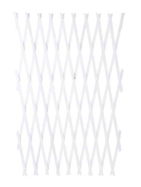 Espalier uttrekkbart, Lengde 2.6 m, Hvit