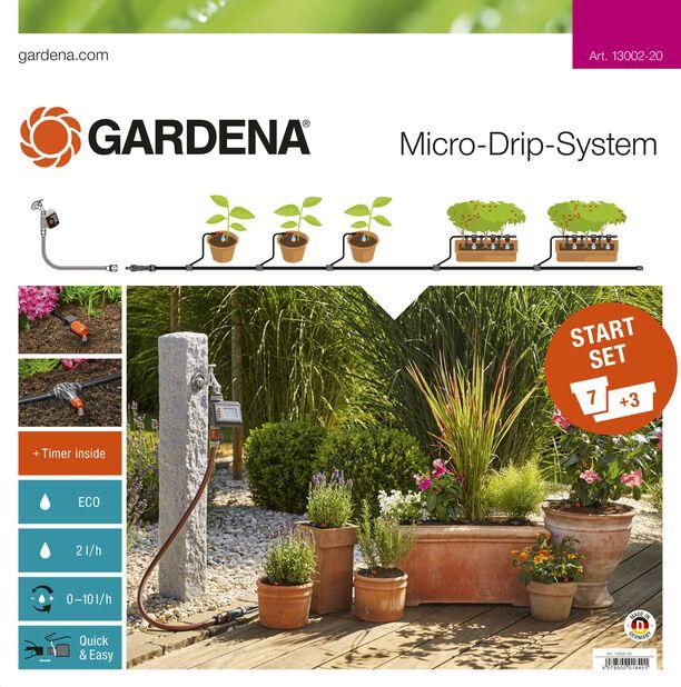 Start set terrace / balcony with water computer Gardena