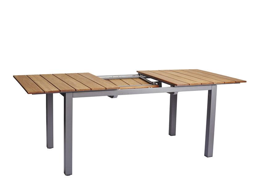 Spisebord Nina, Lengde 200 cm, Grå