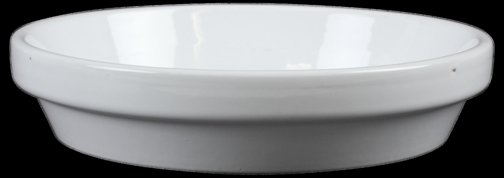 Fat terracotta ø15cm, hvit