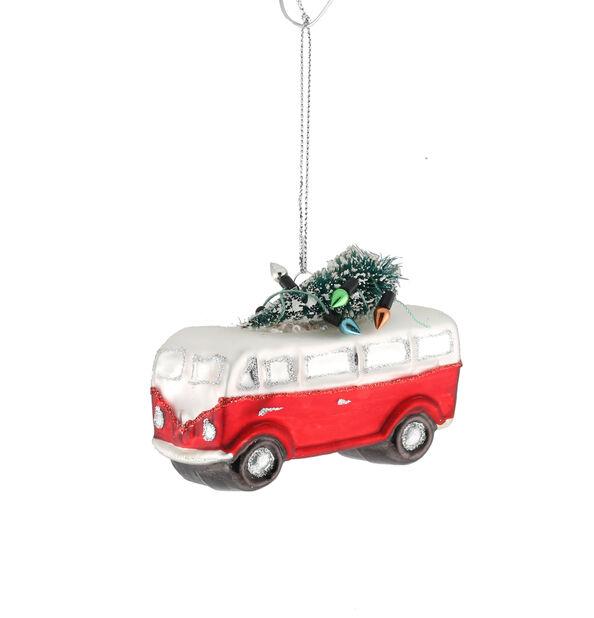 Juletre, Høyde 13 cm, Rød