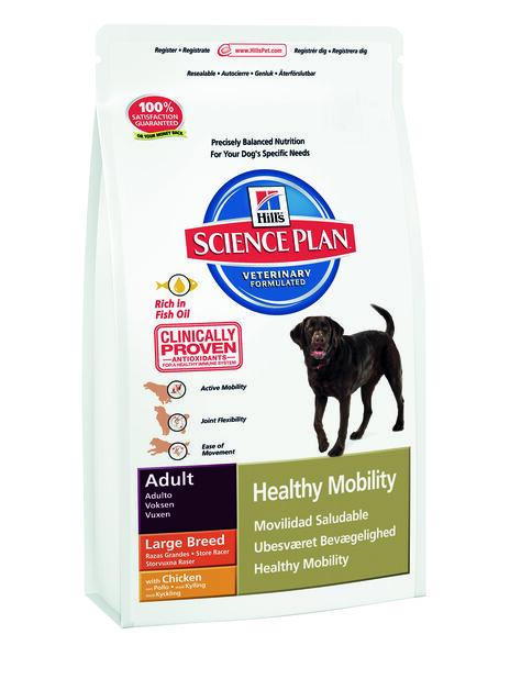 Canine Adult Healthy Mobility Large Breed 12 Kg, 12 kg, Hvit