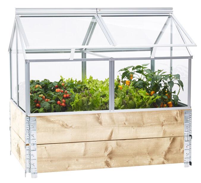 Gaia drivhus til pallekasse