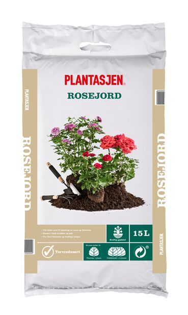 Jord rose , 15 L
