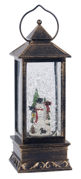 Lykt snømann LED-lys
