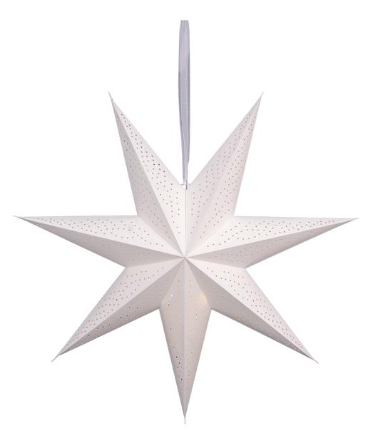 Adventsstjerne Ella, Lengde 90 cm, Hvit