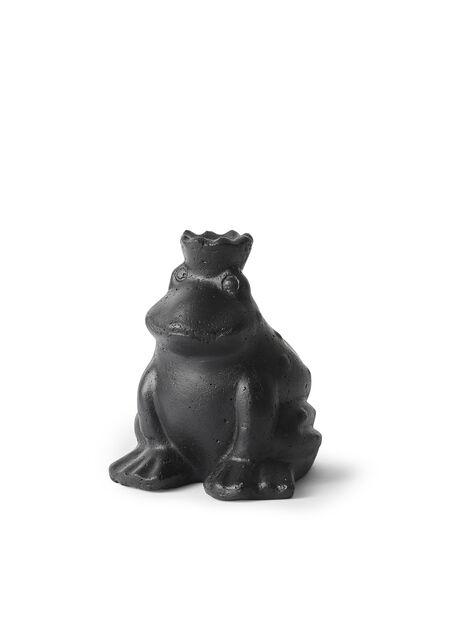 Frosk, Høyde 14 cm, Svart