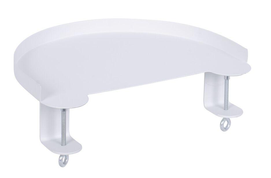 Festbart brett Dalia, Lengde 30 cm, Hvit