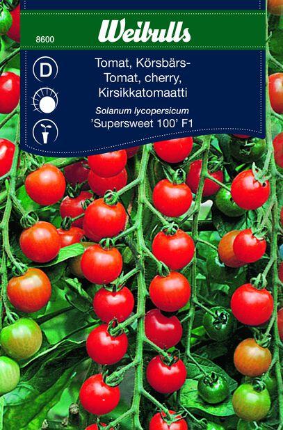 Kirsebærtomat 'Supersweet 100' F1