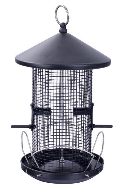 Fuglemater jordnøtter, Høyde 28.5 cm, Svart