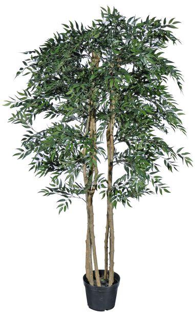 Fikentre kunstig, Høyde 215 cm, Grønn