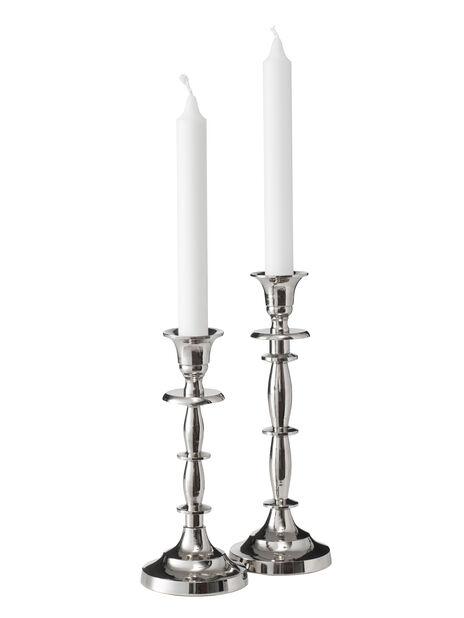 Lysestake Amelia, Høyde 22 cm, Sølv