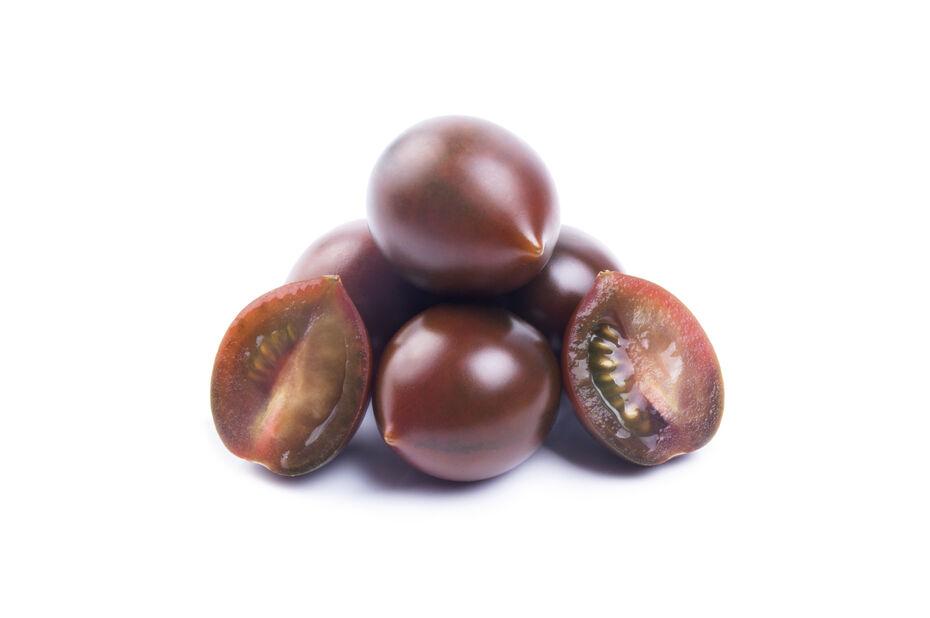 Cherrytomat 'Chocolate Cherry', Ø10.5 cm, Svart