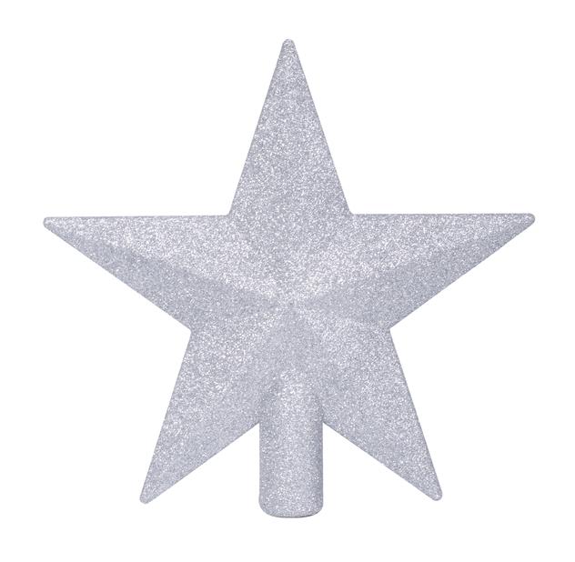 Juletrestjerne Glitter, Ø20 cm, Svart
