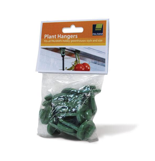 Plantehengere , 10 pk, Flerfarget