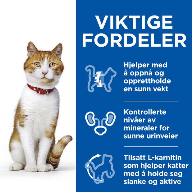 Hill´s SP Sterilised Cat Young Adult kattefôr med and, 7 kg