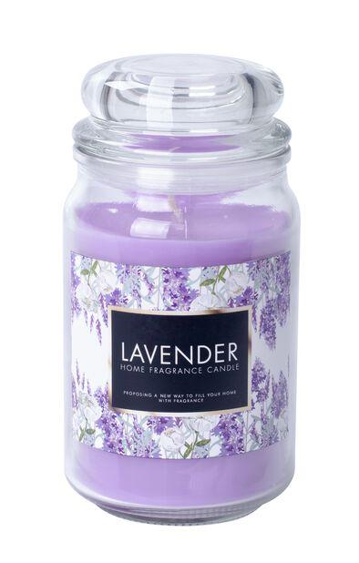 Duftlys Lavendel, Høyde 18 cm, Lilla