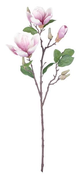 Magnolia kunstig, Høyde 71 cm, Hvit
