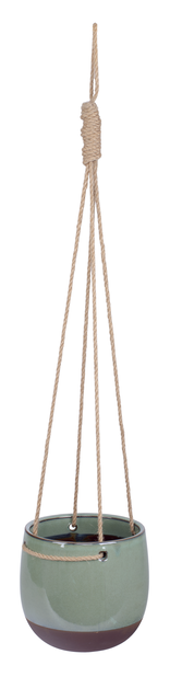 Ampelpotte Alva, Ø19 cm, Grønn