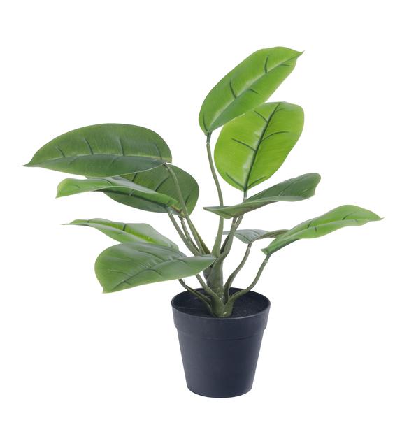 Grønn kunstig planteoppsats , Høyde 30 cm, Grønn