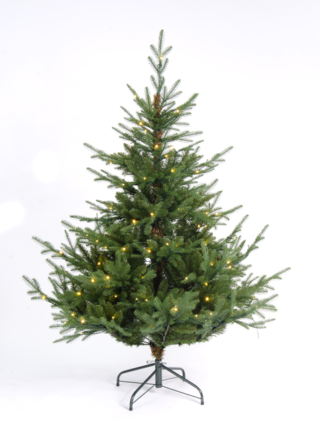 Kunstig juletre Langfjella med lys 150 cm