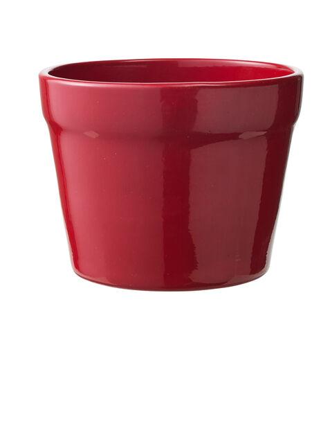 Potte Lena rød D 13 cm