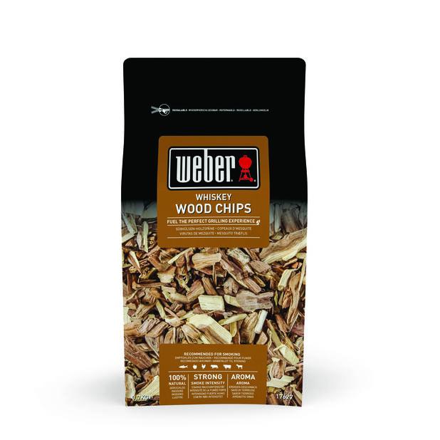 Smoking Wood Chips, Whiskey, 700 g, Svart