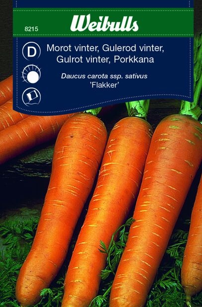 Gulrot 'Flakker'