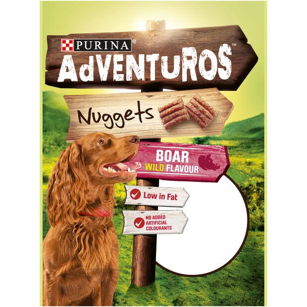 Aventuros Nuggets 6x90 g, 90 g, Flerfarget