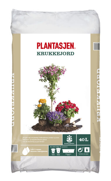 Blomsterjord, 40 L